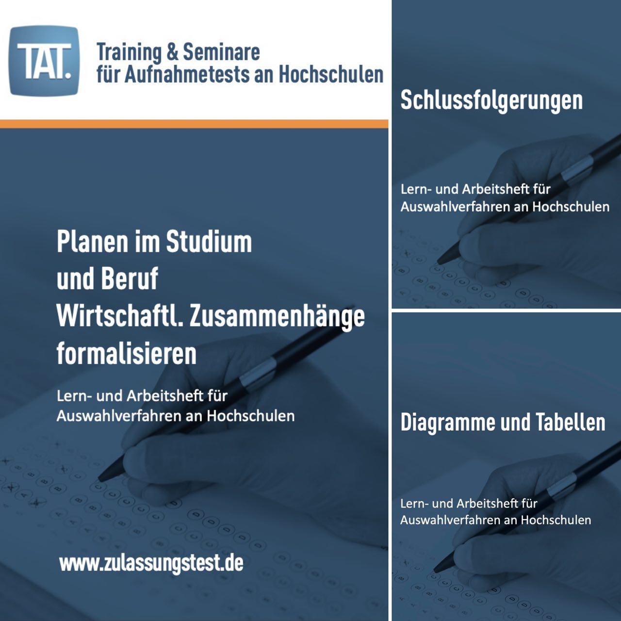 TM-WISO Vorbereitung: Lern- & Arbeitshefte von TAT.